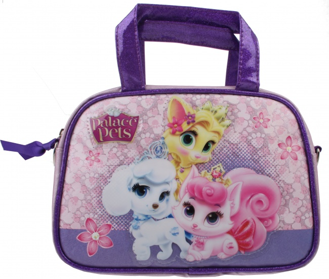Disney Princess Palace Pets beautycase paars 21 x 14 cm