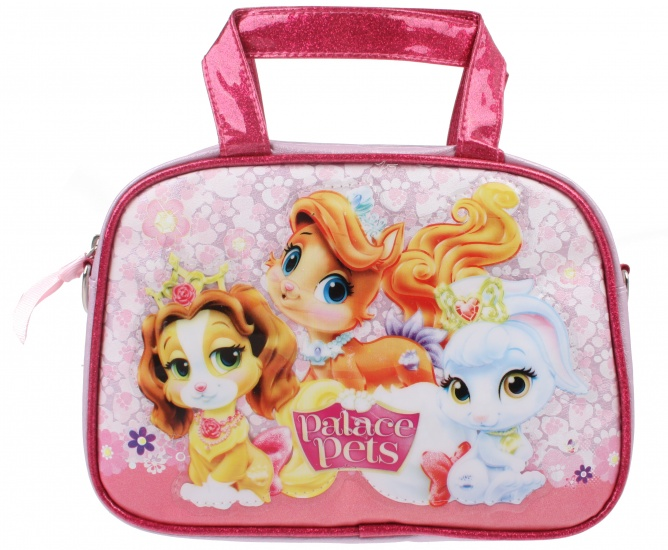 Disney Princess Palace Pets beautycase roze 21 x 14 cm