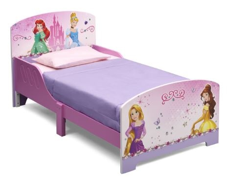 Disney Princess peuterbed 146 x 73 x 66 cm Roze Paars