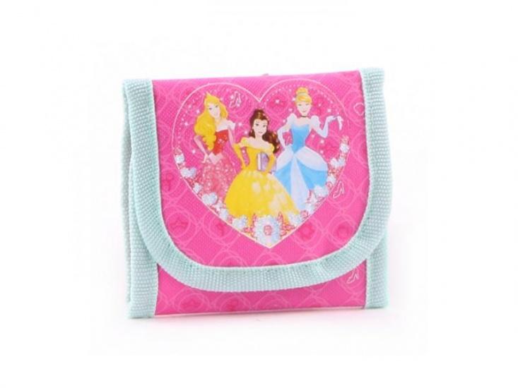 Disney portemonnee Princess Fairy Tale roze 10 x 10 cm