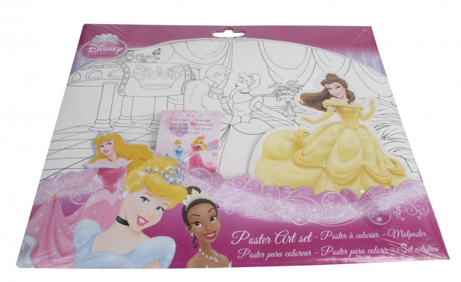 Disney Princess Poster Art Set
