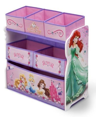 Disney Princess Speelgoed Opbergkast 63.5 x 30 x 66 cm hout