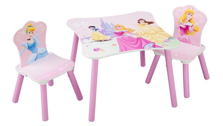 Disney Princess Tafel en Stoelen Set roze
