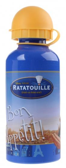 Disney Ratatouille Bidon aluminium 400 ml paars/geel