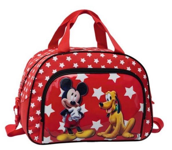 Disney Reistas Mickey Mouse Rood 40 x 22 x 28 cm