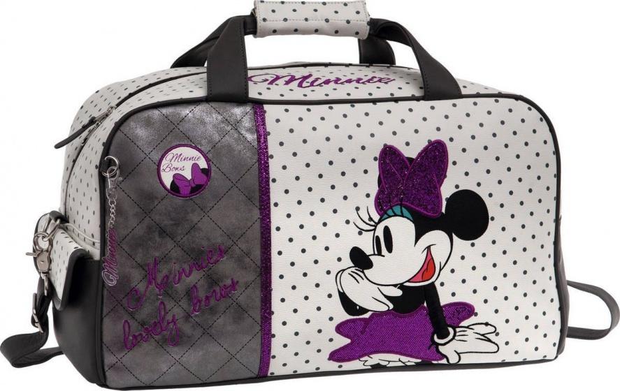 Disney Reistas Minnie Mouse Bows 37 x 25 x 15 cm zwart, wit