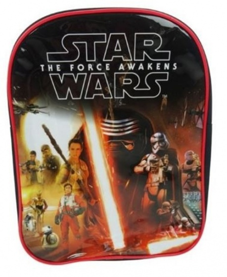 Disney Rugzak Star Wars Force Awakens Zwart 25 x 8 x 31 cm