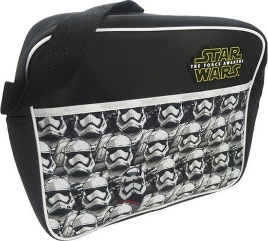 Disney schoudertas Star Wars Stormtrooper zw 34 x 9 x 28 cm