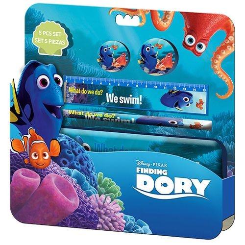 Disney schrijfset Finding Dory: 5 delig kladblok