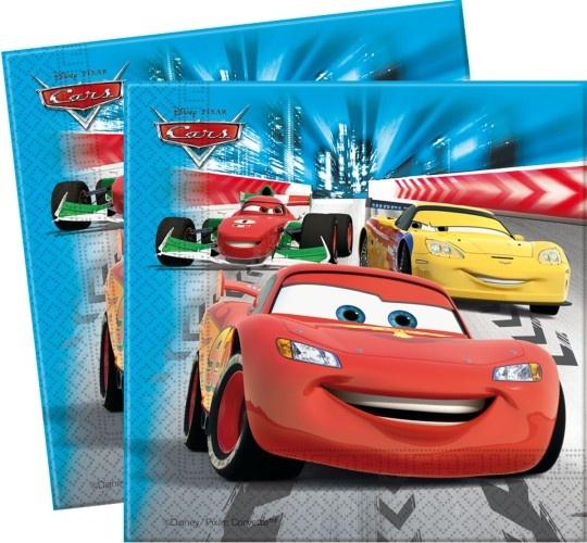 Disney Servetten Cars 33 X 33 cm 20 Stuks