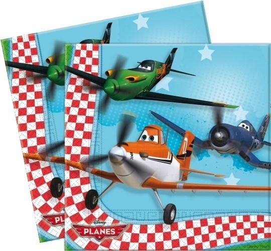 Disney Servetten Planes 33 X 33 cm 20 Stuks