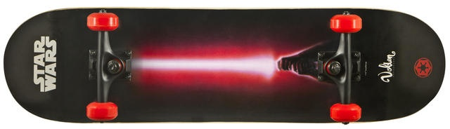 Disney Skateboard Star Wars Darth Vader Zwart