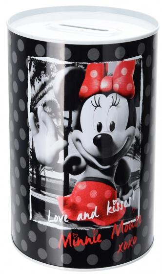 Disney spaarpot Minnie Mouse 1 liter zwart