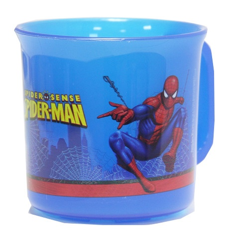 Marvel Spider Man mok 260 ml blauw/rood