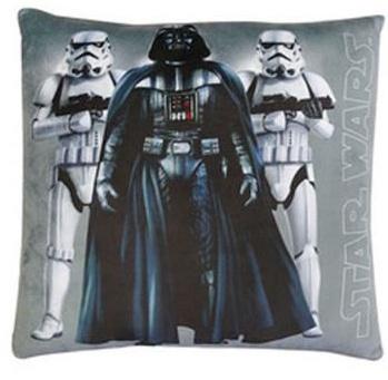 Disney Star Wars Darth Vader Kussen grijs 34 x 34 x 11 cm