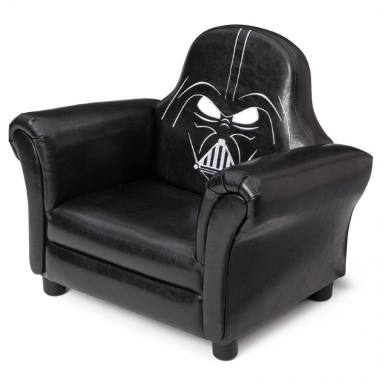 Disney Star Wars Gestoffeerde Stoel zwart 62 x 40 x 51 cm