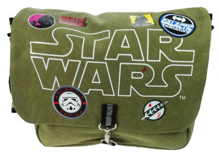 Disney Star Wars schoudertas groen 28 x 36 x 8 cm