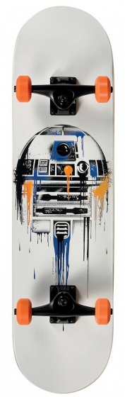 Disney Star Wars skateboard Fading R2D2 79 cm