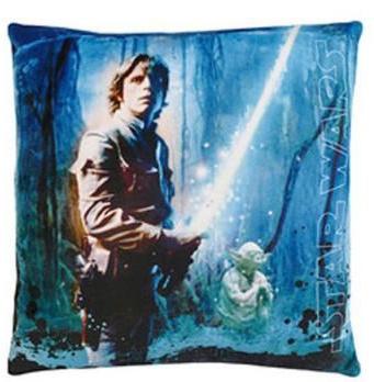 Disney Star Wars Sky Walker Kussen blauw 34 x 34 x 11 cm