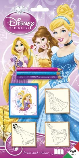 Disney Stempelset Princess: 3 delig