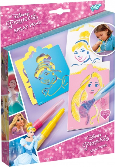 Disney Stencil art Princess ToTum