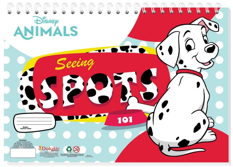Disney sticker en kleurboek Seeing 33 cm papier 40 pagina's