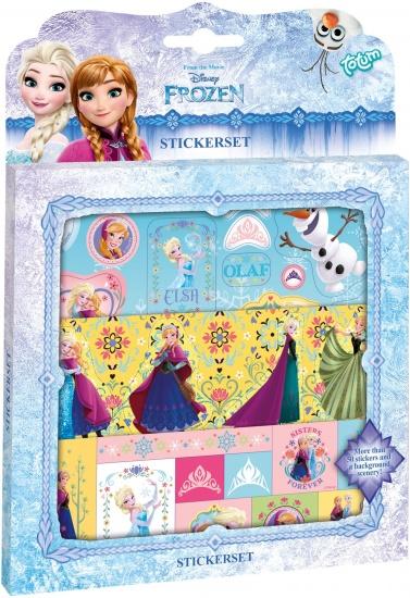 Disney Sticker set Frozen ToTum