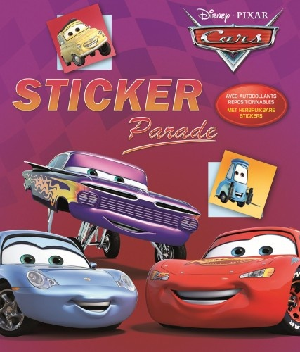 Disney Stickerboek Cars: Stickparade