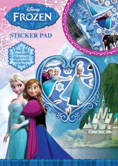 Disney stickerboek Frozen 29,5 cm