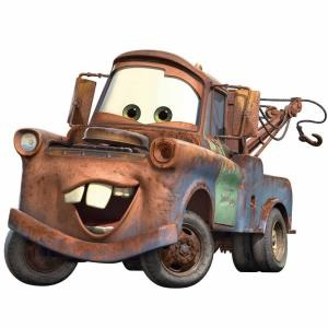 RoomMates muurstickers Cars Mater