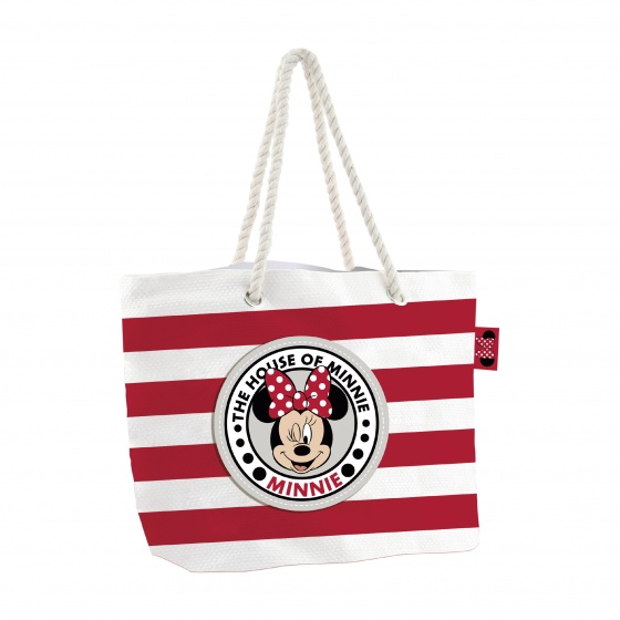Disney strandtas/shopper Minnie Mouse 18 liter kopen