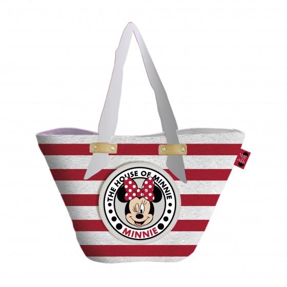 Disney strandtas/shopper Minnie Mouse 22 liter kopen