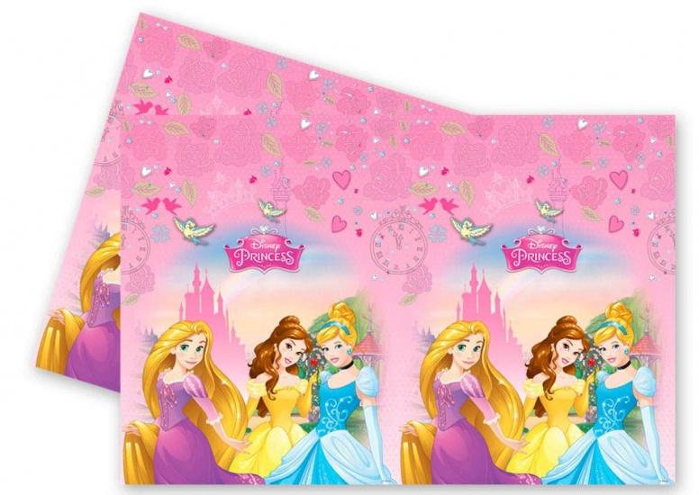 Disney Tafelkleed Princess 120 x 180 cm roze