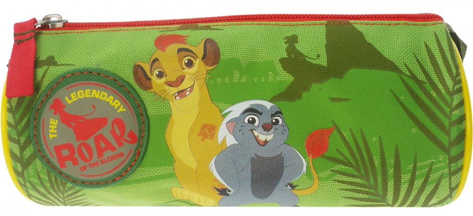 Disney The Lion Guard Etui Hear me Roar groen 8 x 20 x 1 cm