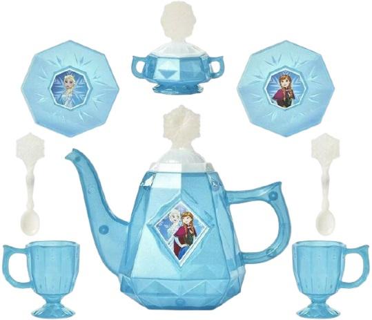 Disney theeservies Frozen II meisjes blauw-wit 10 delig