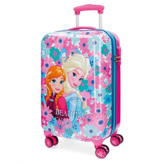 Disney Trolley 55 Cm 4 Wheels Frozen Flowers