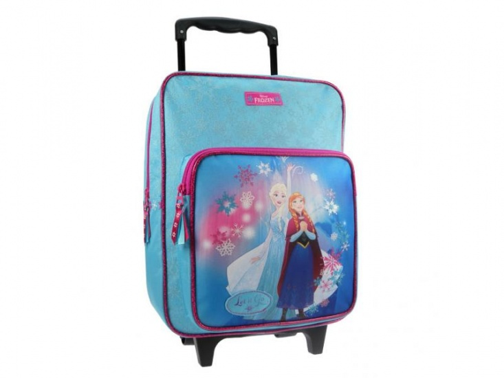 Disney trolley Frozen Northern Lights Blauw 12 x 28 x 35 cm
