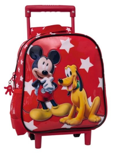Disney Trolley Mickey Mouse Rood 23 x 10 x 25 cm