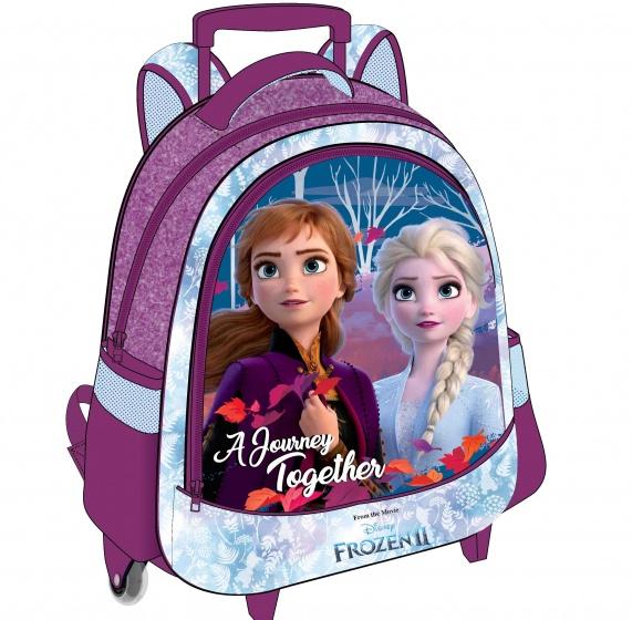 Disney frozen ii trolley rugzakmet deze trolley rugzak van frozen neem jij jouw favoriete spulletjes mee op ...