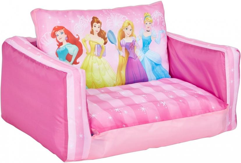 Disney uitklapbaar stoeltje Princess meisjes 105x68x26 cm roze