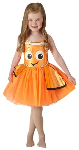 Disney Verkleedpak Finding Dory tutu oranje maat 116