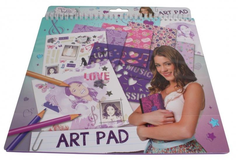Disney Violetta Knutselboek met stickers