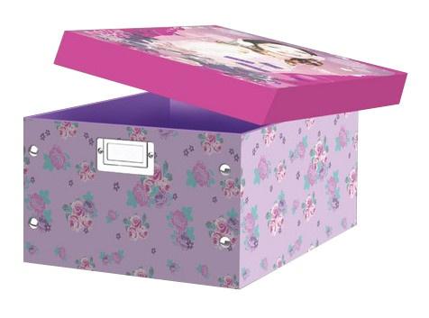 Disney Violetta Opbergbox paars 32 x 23 x 15 cm