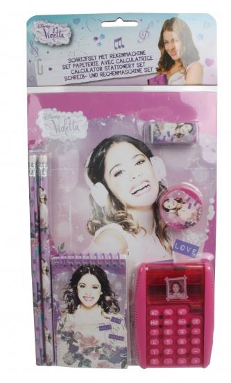 Disney Violetta Schrijfset met Rekenmachine