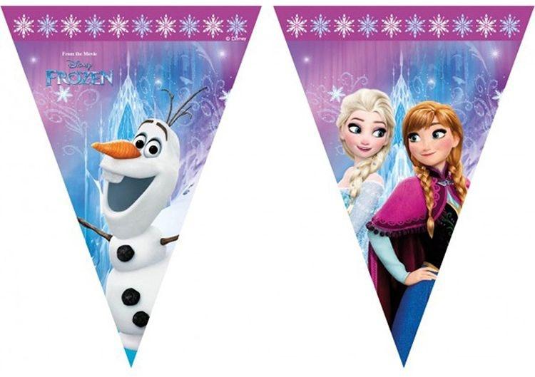 Disney Vlaggenlijn Frozen lights 2 meter