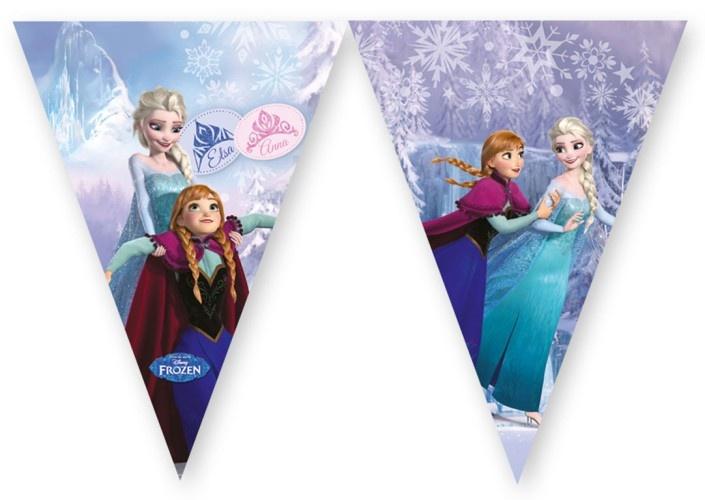 Disney Vlaggenlijn Frozen Skating 2 Meter