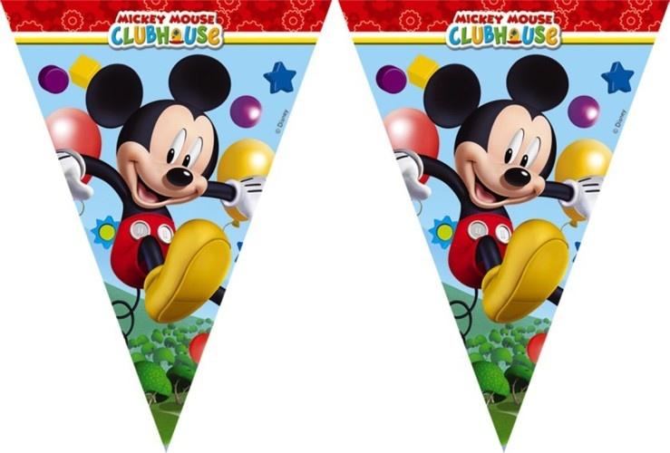 Disney Vlaggenlijn Mickey Mouse 2,3 Meter