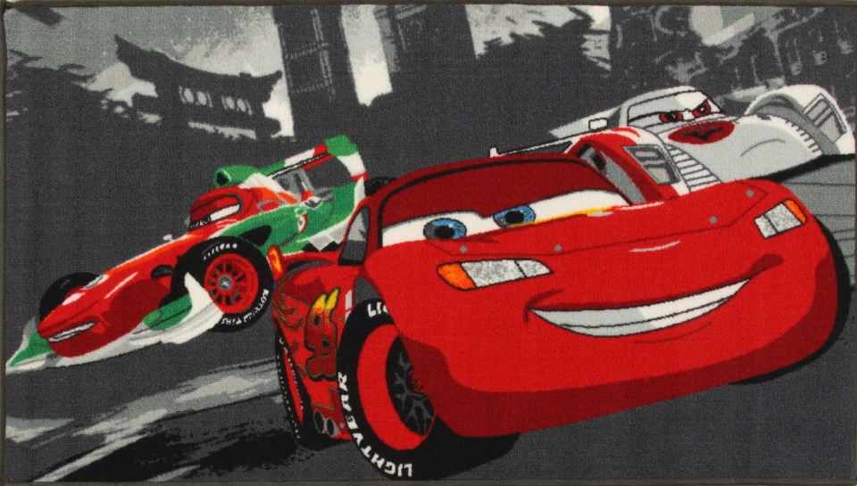 Disney vloerkleed Cars World Racing 140 x 80 cm