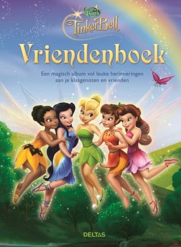 Disney Vriendenboek Faries groen