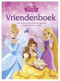Disney Vriendenboek Princess
